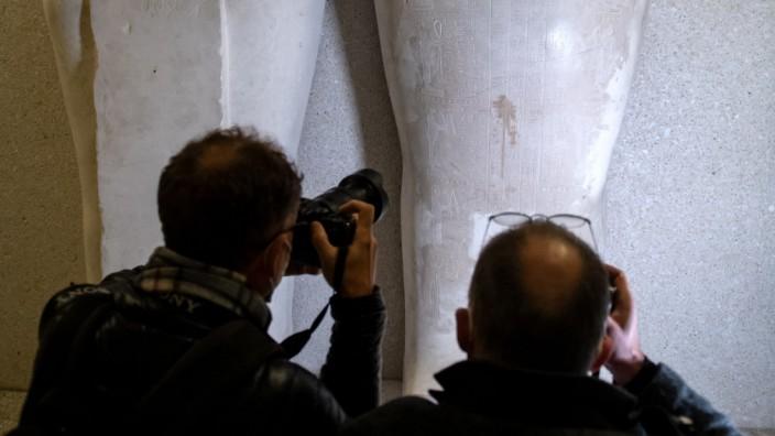 Museen in Berlin: Kunstwerke auf der Museumsinsel im Oktober 2020 beschädigt