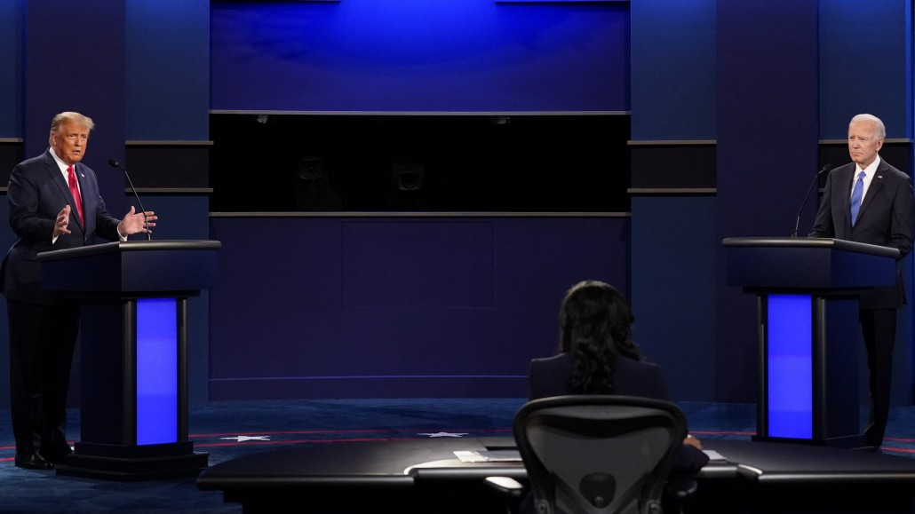 Biden gegen Trump: Die TV-Debatte im Video