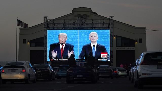 Letztes TV-Duell zwischen Trump und Biden