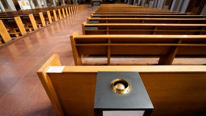 Opferstock in der Mariahilfkirche