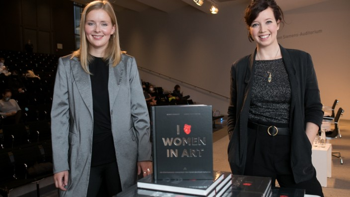 Buchpräsentation PIN, I LOVE WOMEN IN ART