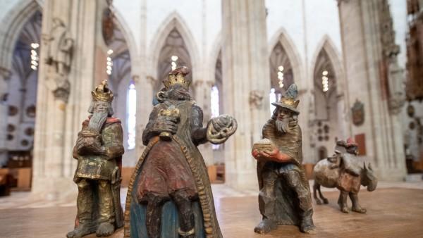 Heilige Drei Könige aus Krippe des Ulmer Münsters