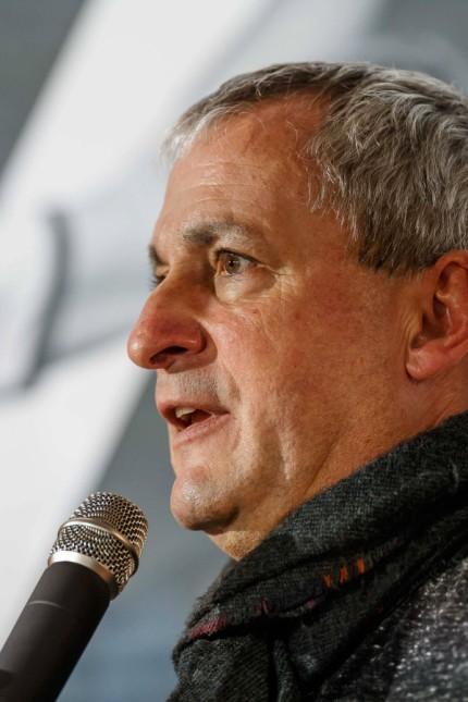 Muenchen Deutschland 21 11 2018 Pressekonferenz 50 Tage bis zur Handball WM 2019 Georg Clarke P; Handball
