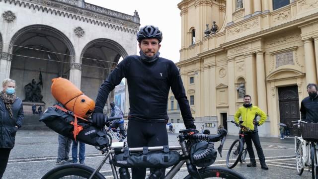 Jonas Deichmann Triathlon Adventure