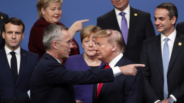 NATO Verteidigungsausgaben