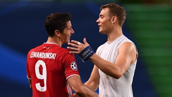 FC Bayern: Robert Lewandowski und Manuel Neuer