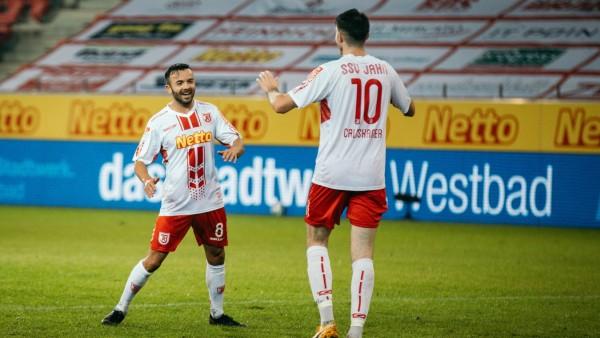 23.10.2020, Fussball, GER, Saison, 2020/2021, 2.Bundesliga, 5. Spieltag, SSV Jahn Regensburg - Eintracht Braunschweig J