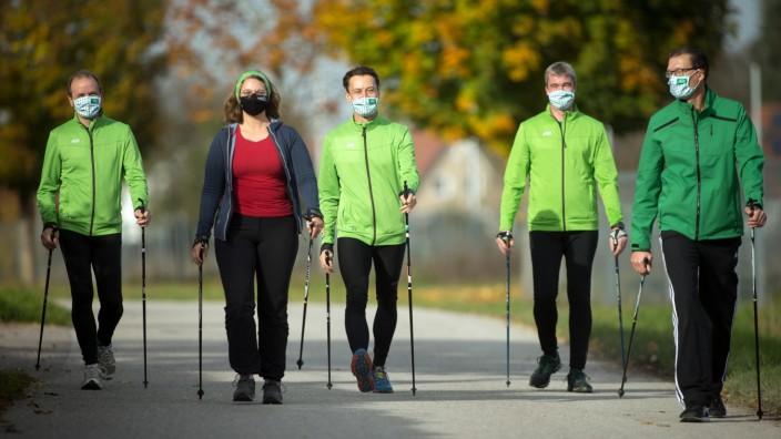 MOOSBURG: 10 Jahre Nordic Walking Parcours