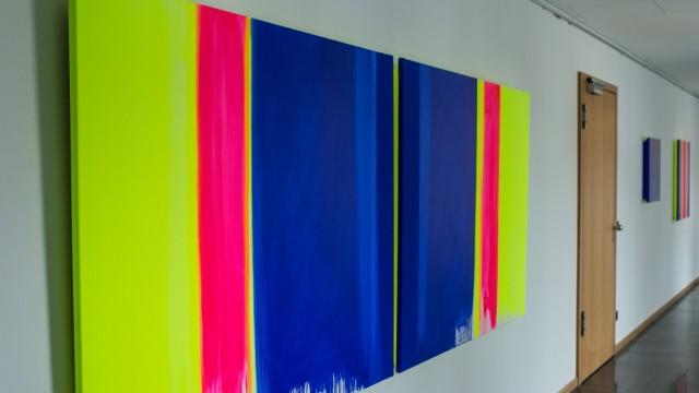 HOHENKAMMER: Ausstellung 'Zwischen Blau und Blau' Evas Maria Kränzlein + Michael Eckle
