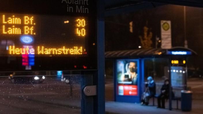 Streik bei der MVG in München