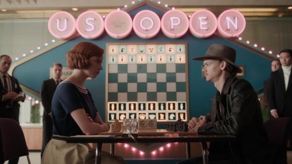 "Serie ""Damengambit"" auf Netflix"