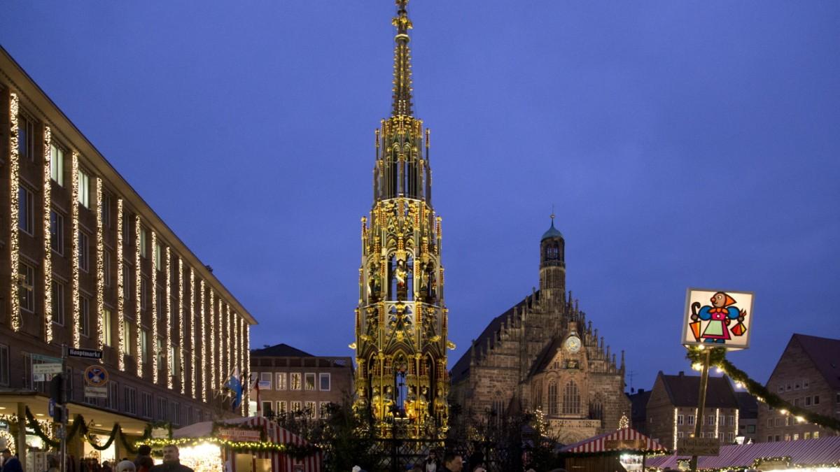 Corona in Bayern: Nürnberg sagt Christkindlesmarkt ab - Süddeutsche Zeitung