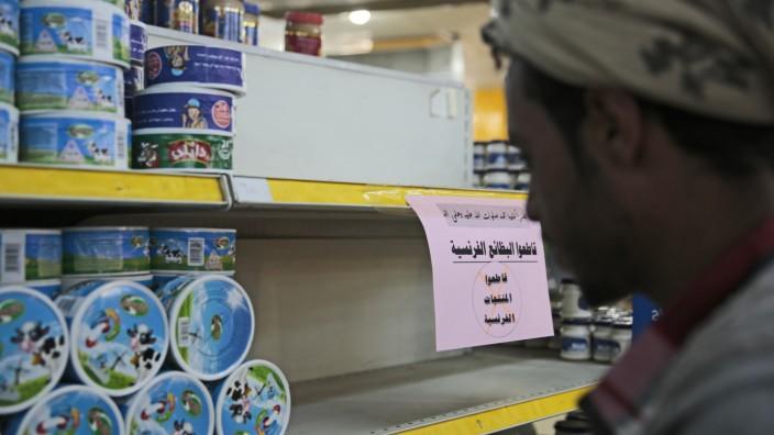 Boykott französischer Waren im Jemen