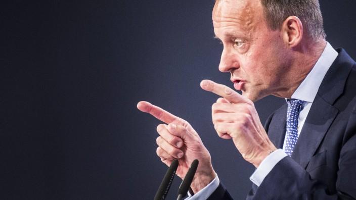 Friedrich Merz auf dem CDU-Parteitag 2019 in Leipzig