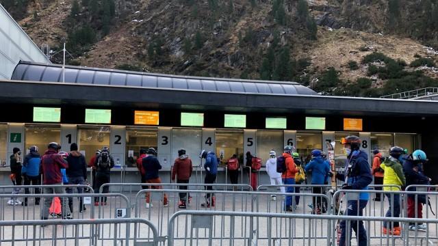 Stubaier Gletscher Talstation