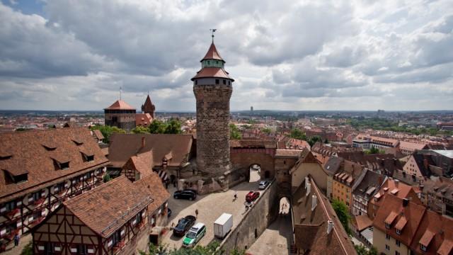 Stadtansicht Nürnberg