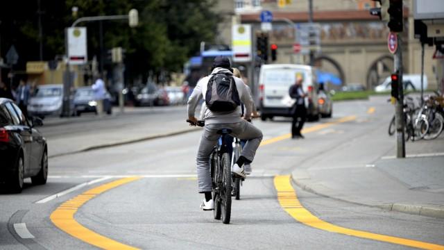"""""""PoP-Up"""" Radwege in der Münchner Innenstadt, 2020"""