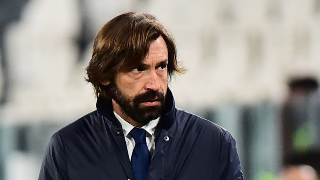 Champions League: Andrea Pirlo vor dem Spiel Juventus Turin gegen FC Barcelona