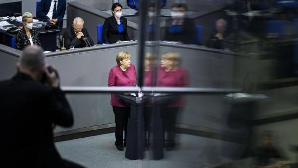 Corona-Regeln: Angela Merkel im Oktober 2020 im Bundestag zu den neuen Corona-Maßnahmen