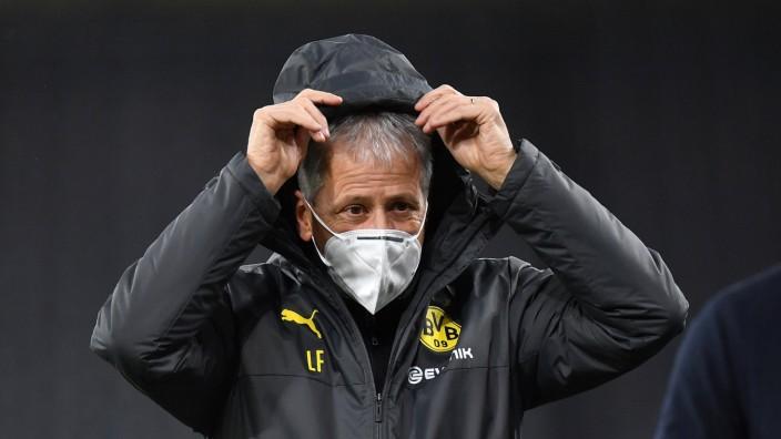 Fußball: Fußball: Champions League, 2. Spieltag, Borussia Dortmund - Zenit St. Petersburg am 28.10.2020 Dortmunds Traine
