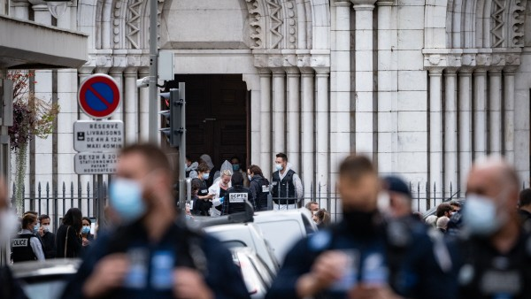 Nice Church Terrorist Attack Aftermath