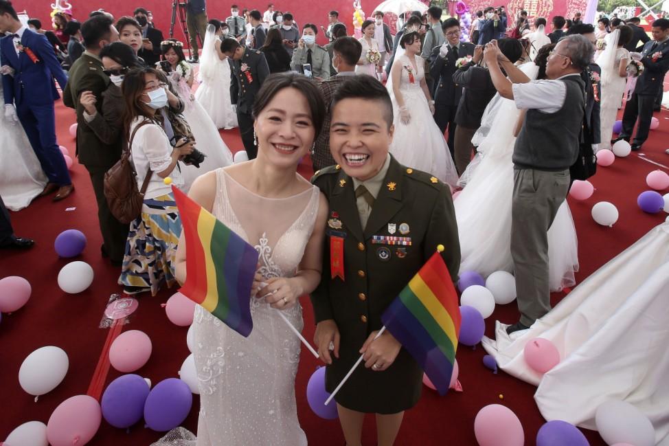 Homo-Ehe in Taiwan