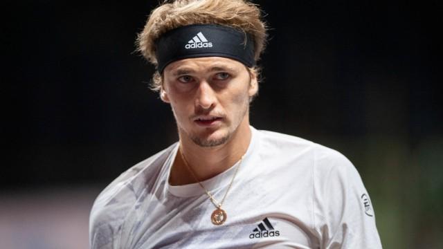 In the Alexander ZVEREV (GER) as Double Championship Winner , Alexander ZVEREV (GER) vs Diego SCHWARTZMAN (ARG), TENNIS,