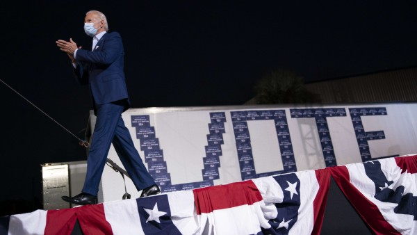 Joe Biden Campaigns For President In Florida