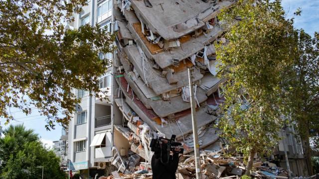 Erdbeben in der Ägäis: Lag es an minderwertigem Baumaterial?
