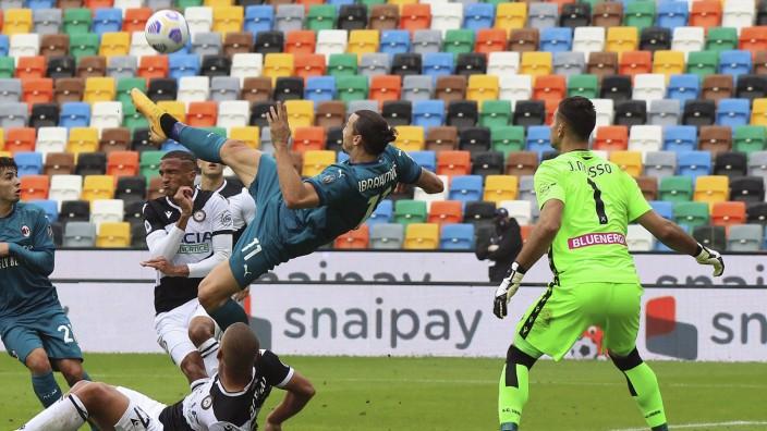 Udinese Calcio - AC Mailand