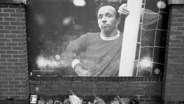 Tributes Are Left To England World Cup Hero Nobby Stiles; Styles