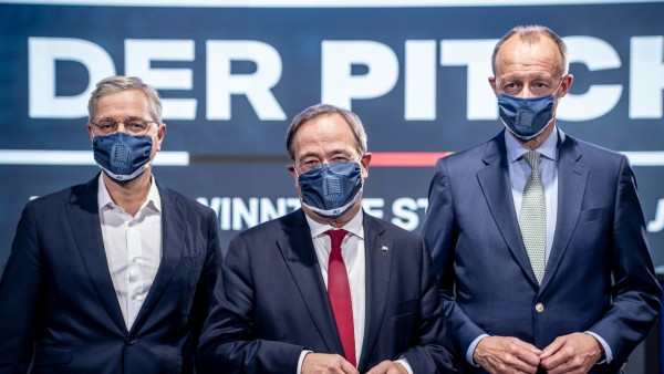 CDU-Vorsitzkandidaten entschärfen Streit - Parteitag Mitte Januar