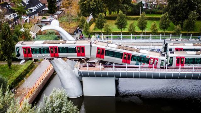 U-Bahn-Unfall in den Niederlande