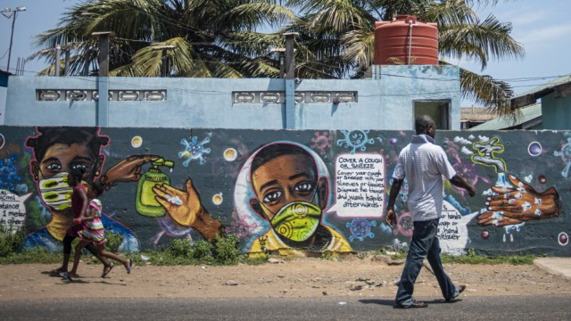 General Economy In Ghana's Capital Amid African Bond Rally Miss