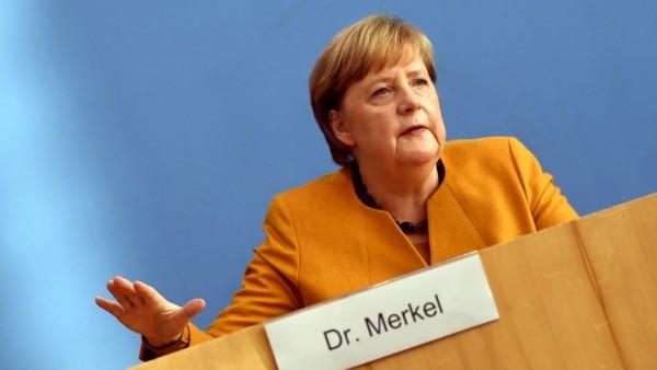 Merkel Speaks Following Meeting Of Government Coronavirus Cabinet