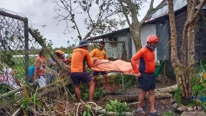 Taifun Goni - Philippinen