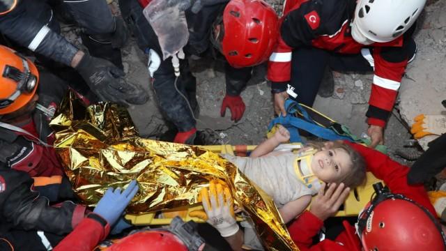 Nach dem Erdbeben in der Türkei