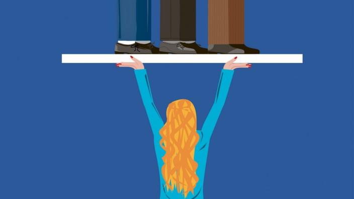 Chancengleichheit im Beruf: Gleichberechtigung sieht anders aus - in manchen Unternehmen aber ist Chancengleichheit zu fortschrittlich. Vielfalt bleibt da auf der Strecke.