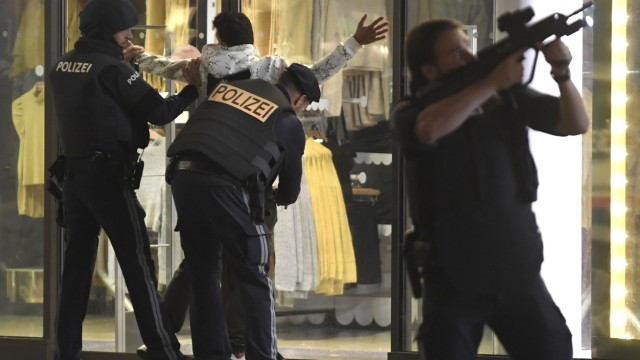 Schüsse in Wiener Innenstadt