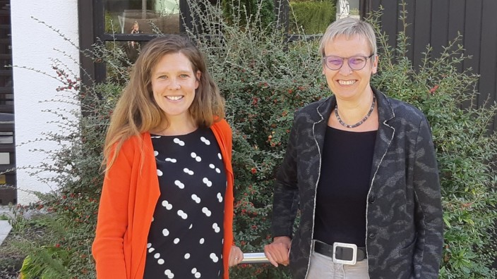 Anja Bungarzt-Pippig und Barbara Gaab