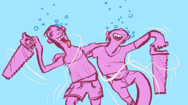 "SZ-Kolumne ""Mitten in..."": Illustration: Marc Herold"
