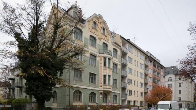 Schwabinger Gebäude im Jugendstil