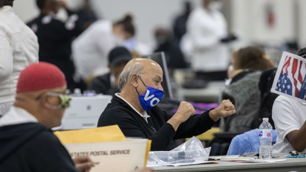 Michigan Election Workers Continue To Count Absentee Ballots