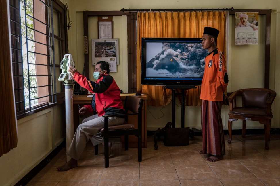 Authorities Evacuate Villages Near The Summit of Mount Merapi