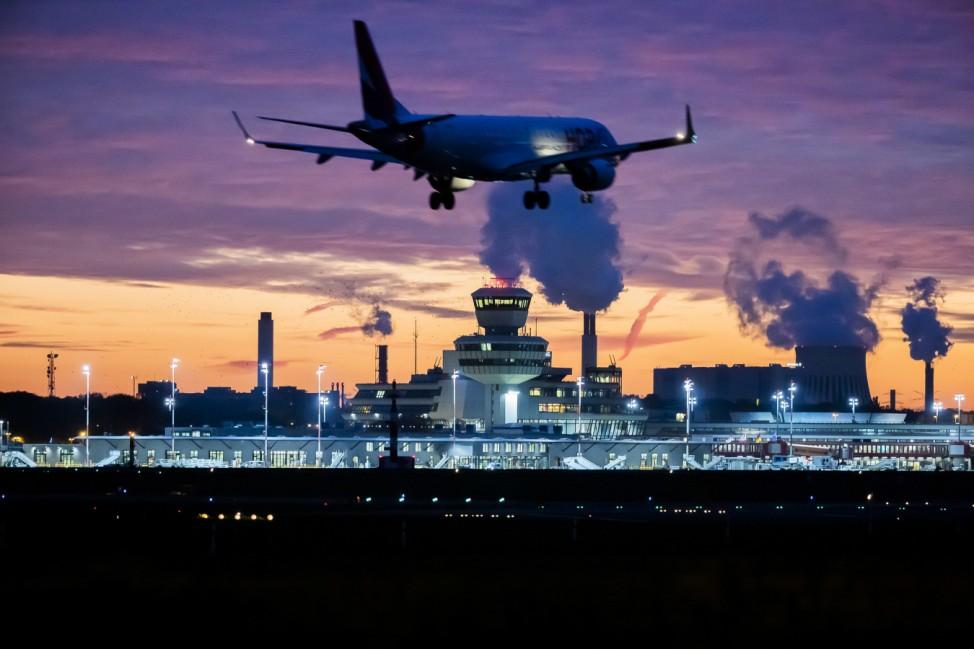 Flughafen Tegel vor dem letzten Flug