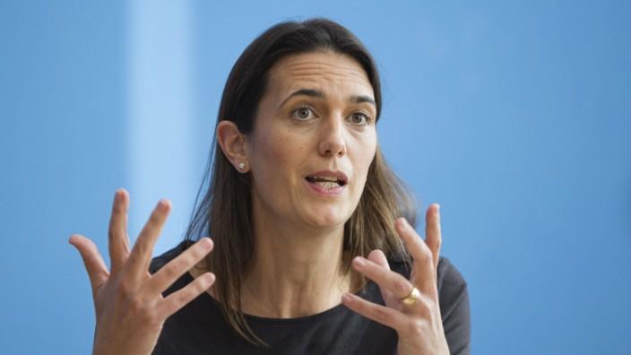 Melanie Brinkmann, Arbeitsgruppenleiterin des Helmholtz Zentrum fuer Infektionsforschung. Berlin, 03.11.2020 Berlin Deut