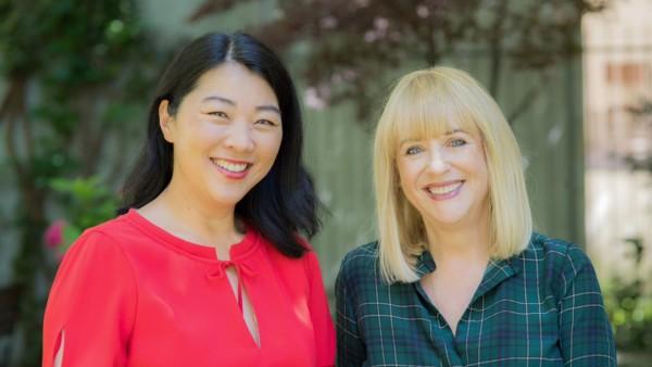 Serie: Herzogpark Produzentin Yoko Higuchi-Zitzmann (links) und Patricia Riekel