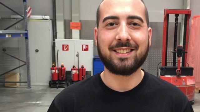 Metin Birdal, 27, Industriemechaniker bei Siemens Healthineers