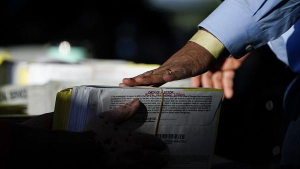 Präsidentschaftswahlen in den USA - Stimmauszählung