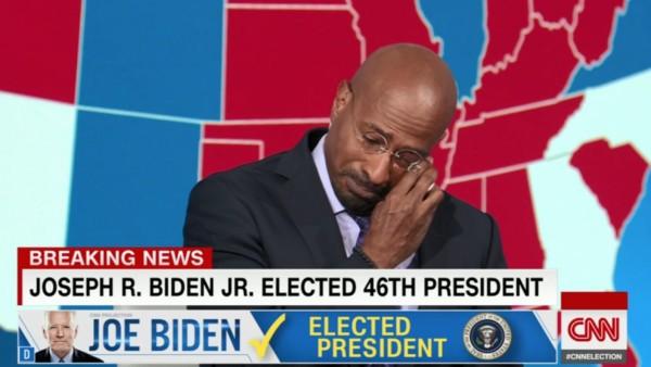 Van Jones, Screenshot, CNN